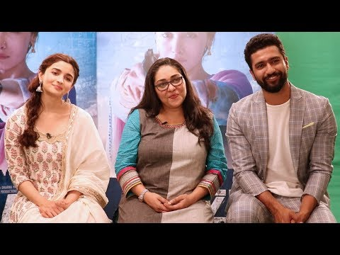 EXCLUSIVE: Alia Bhatt, Meghna Gulzar and Vicky Kaushal get candid about 'Raazi' thumbnail