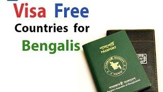 12  countries Bangladeshis can visit without visa