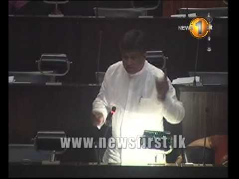 Prime Minister Was Fast Asleep During President's Budget Speech- Ajith P. Perera video