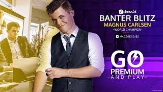 Banter Blitz with World Champion Magnus Carlsen (3)