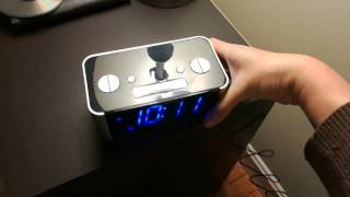 My new Emerson CKS1708 SmartSet SureAlarm AM/FM Clock Radio