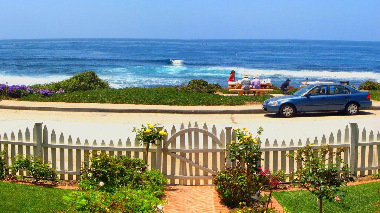 San Diego Beachfront Oceanfront Vacation Rental Cottage In