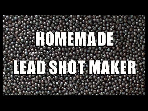 Homemade Lead Shot Maker