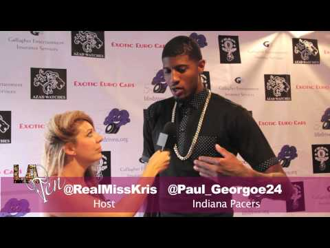 Paul George interview pre broken leg injury