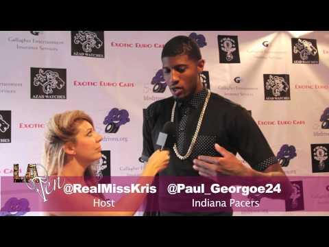 Paul George interview pre broken leg injury