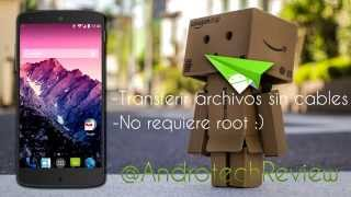 Transferir archivos a tu android sin cables! | Airdroid