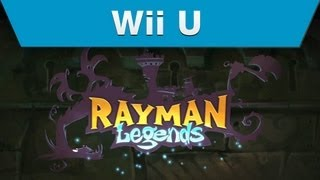 Wii U - Ubisoft - Rayman Legends Levels E3 Trailer