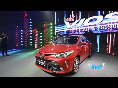 The Coup Channel : เปิดตัว/เจาะลึก NEW Toyota VIOS (2017) Minorchange