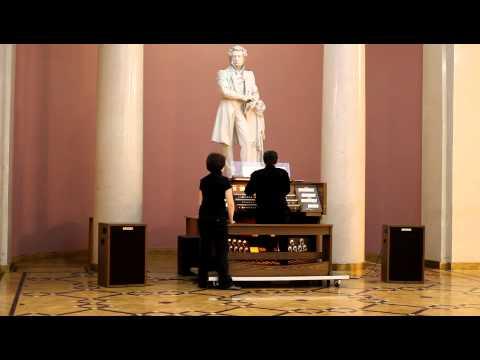 Бах Иоганн Себастьян - BWV 956 - Фуга (ми минор)