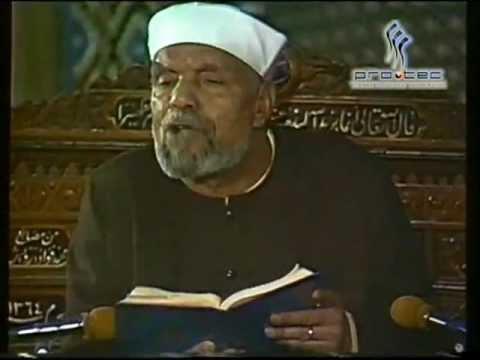 07- تفسير سورة  النحل - الآية ( 27 - 31 ) -  الشعراوي