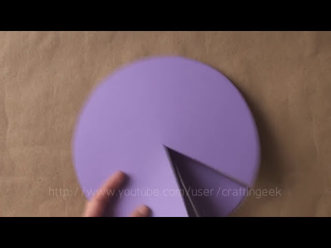 Tarjeta-carta GIRATORIA // regalo original + facil