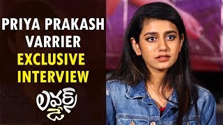 Priya Prakash Varrier Exclusive Interview About Lovers Day Movie | Prakash Varrier | Oru Adaar Love