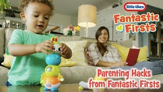 Little Tikes | Parenting Hacks From Little Tikes Fantastic Firsts | Sleepy Stacker | :20 Commercial