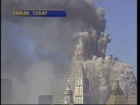 WTC collapse, NBC, 9/11, 17:42