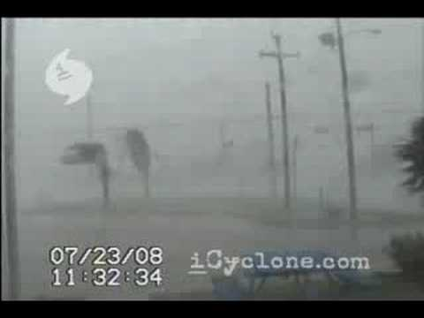 Hurricane DOLLY in Port Isabel, TX (2008)