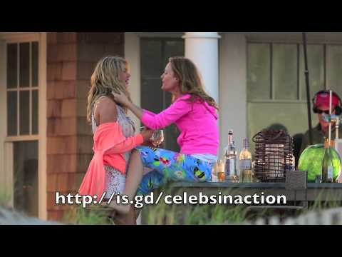 Kate Upton and Leslie Mann Girls Gone Wild On Set of Filming The Other Woman