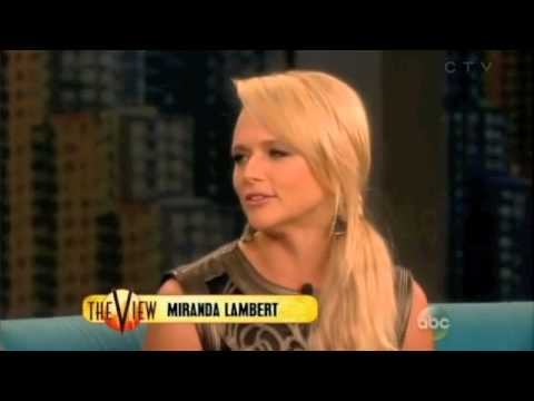 Miranda Lambert talks on the VIEW show