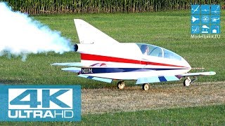 [4K] HUGE RC BD5J MICROJET 66% M 1:1,5 TURBINE JET GB-MODELS HANNES LUTZENBERGER