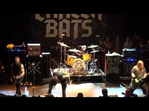 CANCER BATS - Sabotage; Hail Destroyer; R.A.T.S. -  Live @KOKO, London, March 15, 2013