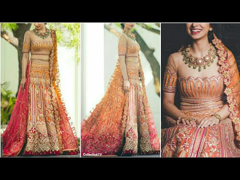 Top Beautiful Half Saree/ Lehenga Choli Designs