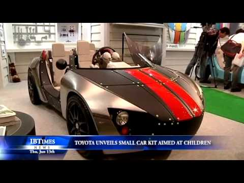 Toyota Unveils Small Car Kit Aimed At Children Youtube