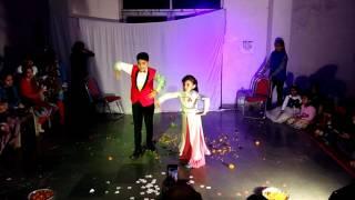 Idhar Chala Main Udhar Chala Dance Performance by Abhi and Pari
