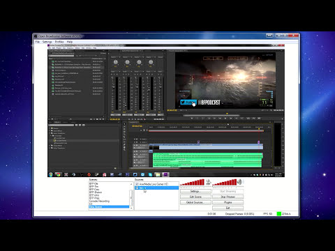 OBS Streaming Tutorial | How to stream to Twitch.tv | By ChalkOne