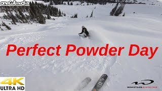 Mega Storm Day 6 or A PERFECT POWDER DAY!