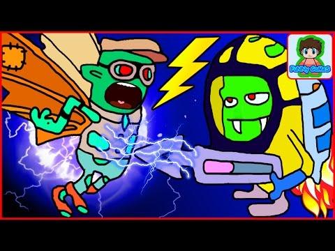 zombie catchers Ловцы зомби игра как мультик для детей от фаника 15
