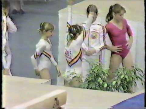 1985 FIG World Gymnastics Championships - Women's Individual Apparatus Finals