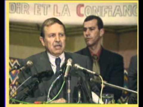Biographie du Candidat Abdelaziz Bouteflika Complète
