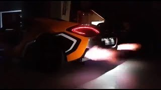McLaren 570S Shooting Flames w/ ARMYTRIX Variable Valve Controlled Exhaust - Exotic Sounds!
