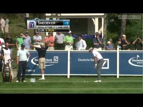 Shot of the Day: Brandt Snedeker's hole in one at TPC Boston (2011)