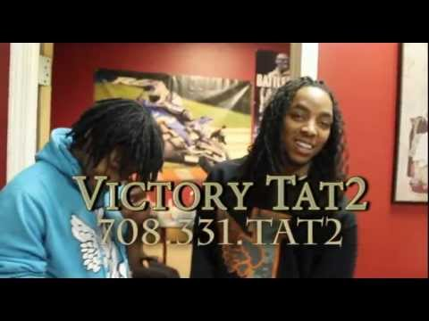 "Shot by:@vizzleGizzle SD of GBE ""We wassup"" gettin the Officail GBE 300 tat2 @Victorytat2 @Sd_gbe300 @fredosantana300 Produced by: young Chop."