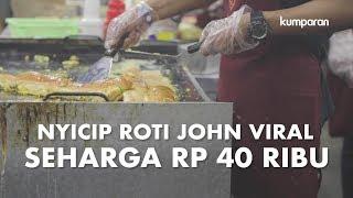 Nyicip Roti John Viral Seharga Rp 40 Ribu