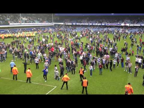 Cheers then jeers - post match reaction, QPR v Newcastle, 12 May 2013