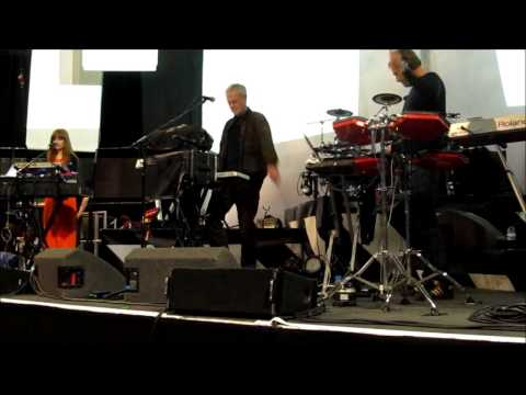 John Foxx & The Maths - Soundcheck - The Roundhouse - 3rd May 2013