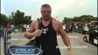 Brock lesnar in fans