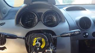 How to remove the clock spring on a chevy aveo