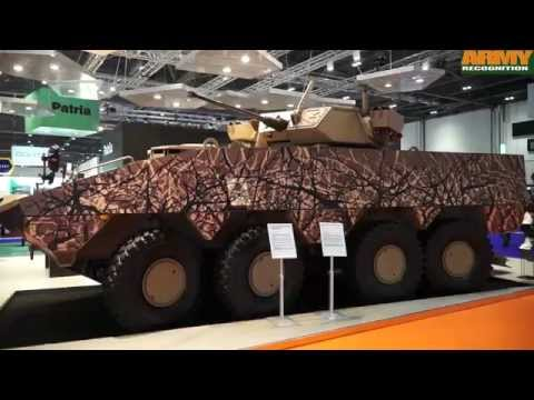 Patria AMV XP 8x8 armoured vehicle Extra Payload Performance Protection Mika Kari President Land