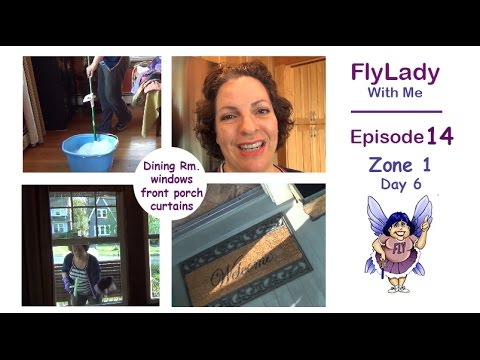 FlyLady with Me    Episode 14    Zone One -  Day Six   
