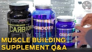 Muscle Building Supplement QnA - Muscle Building Supplements that Actually Work!