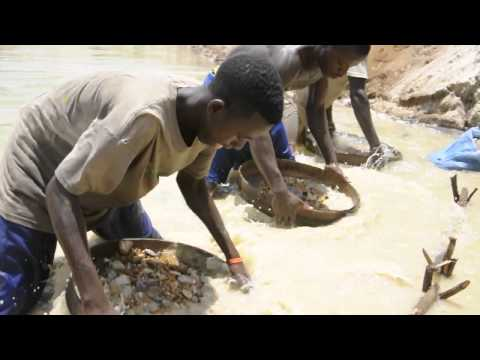 Diamond Mining in Sierra Leone
