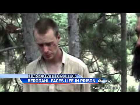 Sgt. Bowe Bergdhal Charged With Desertion and...