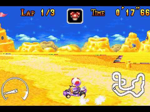 Mario Kart - Super Circuit - Cheese Land shortcuts - User video