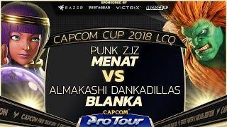 ZJZ (Menat) vs Dankadillas (Dhalsim) - Capcom Cup 2018 LCQ Grand Finals - CPT2018