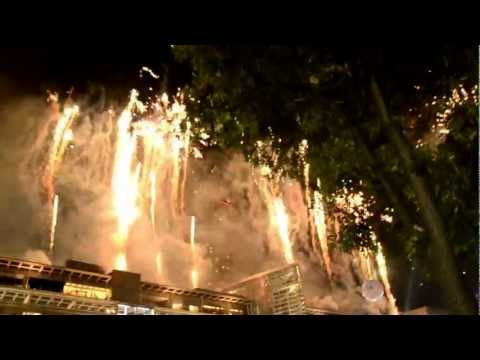 New Year's Eve 2012 – 2013 – Bangkok – FireWorks @ Central World