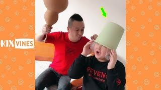 Funny videos 2019 ✦ Funny pranks try not to laugh challenge P76