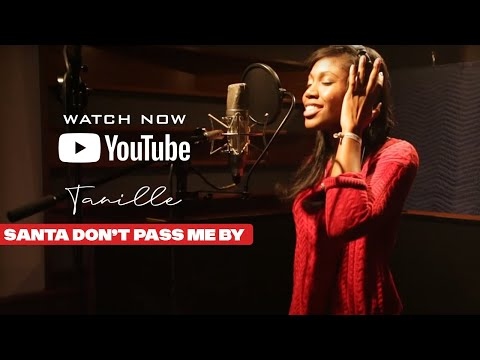 """Tanille """"Santa Don't Pass Me By""""  official music video"""
