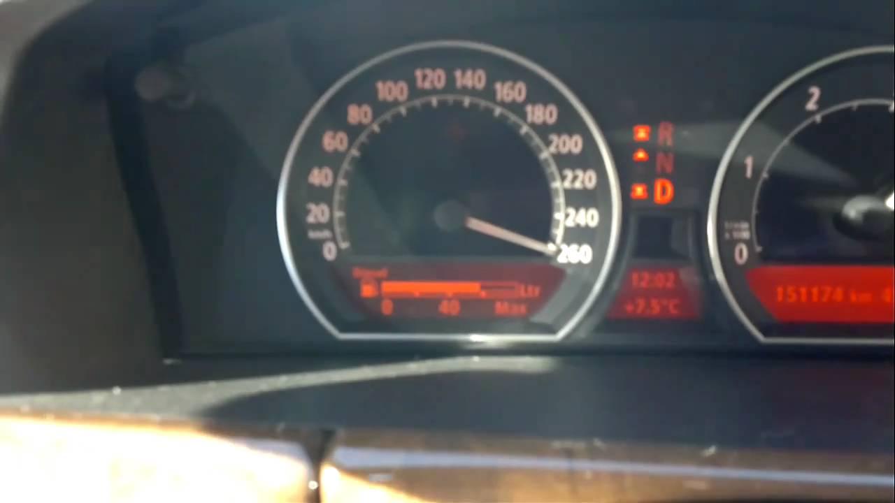 Bmw Speed Bmw-730 d Top Speed